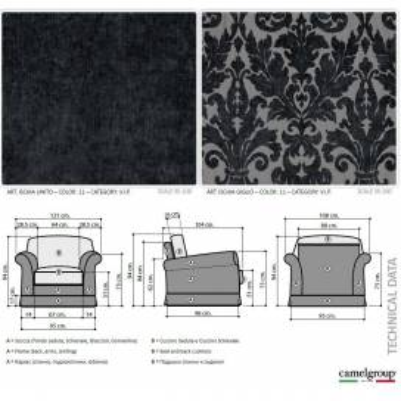 17 Camelgroup Treviso Sofa мягкая мебель