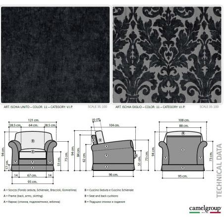 Camelgroup Treviso Sofa мягкая мебель - Фото 17