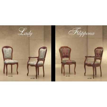 Morello Gianpaolo Red catalogue стулья и полукресла - Фото 14