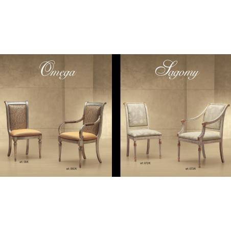 Morello Gianpaolo Red catalogue стулья и полукресла - Фото 19
