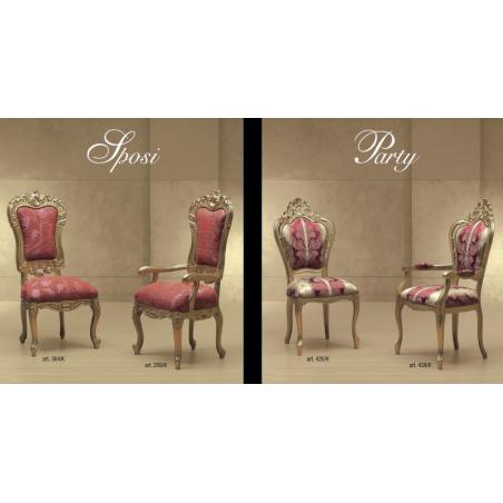 Morello Gianpaolo Red catalogue стулья и полукресла - Фото 22