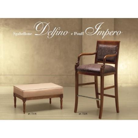 Morello Gianpaolo Red catalogue барные стулья - Фото 4