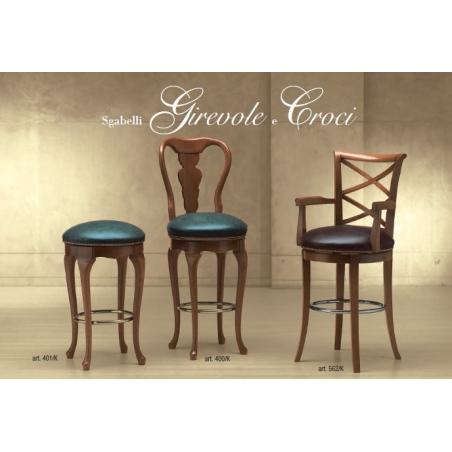 Morello Gianpaolo Red catalogue барные стулья - Фото 2