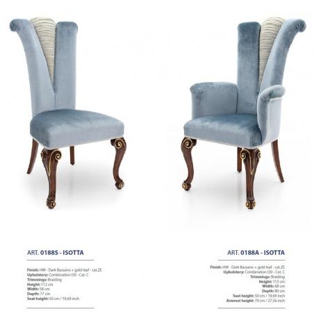 Sevensedie Classico стулья и полукресла - Фото 14