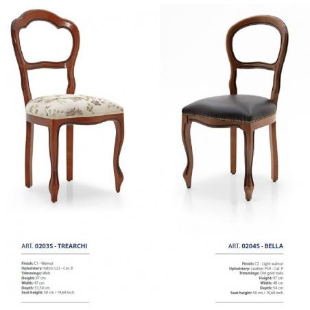 Sevensedie Classico стулья и полукресла - Фото 15