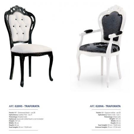 Sevensedie Classico стулья и полукресла - Фото 19