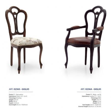 Sevensedie Classico стулья и полукресла - Фото 21