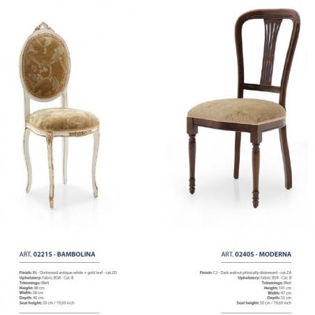 Sevensedie Classico стулья и полукресла - Фото 22