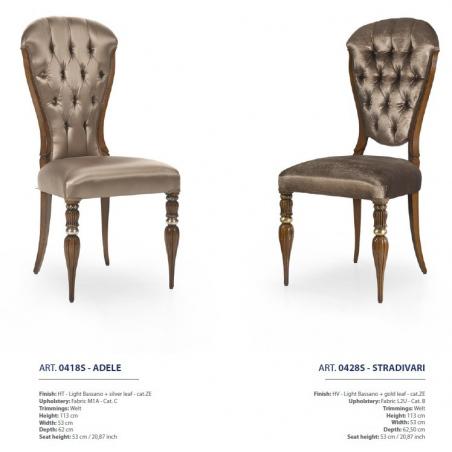 Sevensedie Classico стулья и полукресла - Фото 27