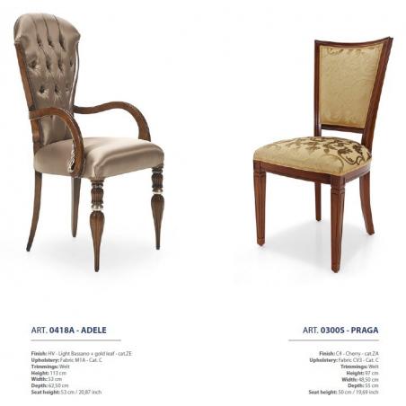 Sevensedie Classico стулья и полукресла - Фото 28