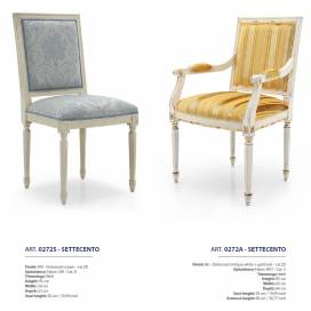 Sevensedie Classico стулья и полукресла - Фото 30