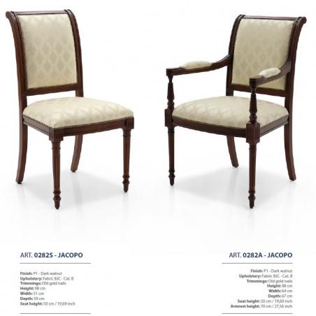 Sevensedie Classico стулья и полукресла - Фото 32