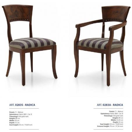 Sevensedie Classico стулья и полукресла - Фото 33