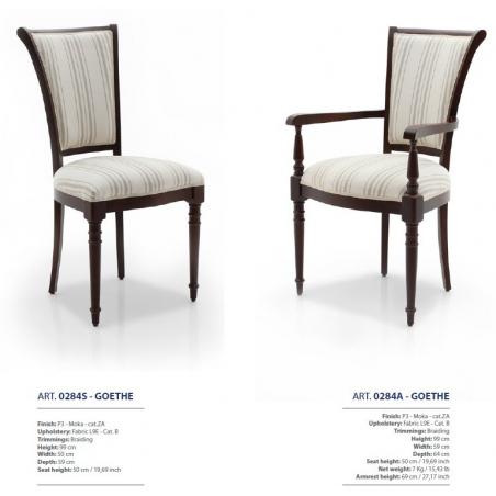 Sevensedie Classico стулья и полукресла - Фото 34