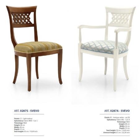 Sevensedie Classico стулья и полукресла - Фото 35