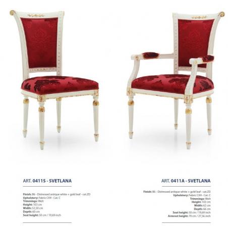 Sevensedie Classico стулья и полукресла - Фото 42