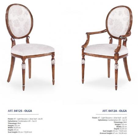 Sevensedie Classico стулья и полукресла - Фото 43