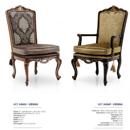 Sevensedie Classico стулья и полукресла - Фото 55
