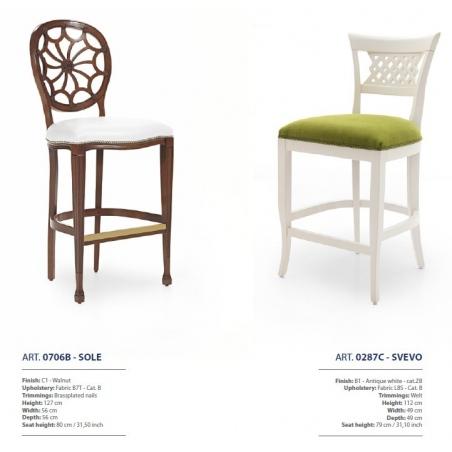 Sevensedie барные стулья - Фото 5