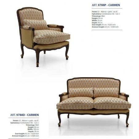 Sevensedie Classico диваны и кресла - Фото 45