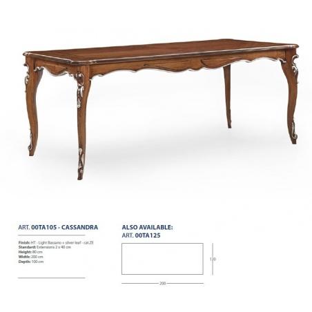 Sevensedie Classico обеденные столы - Фото 6