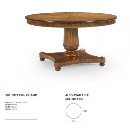 Sevensedie Classico обеденные столы - Фото 9