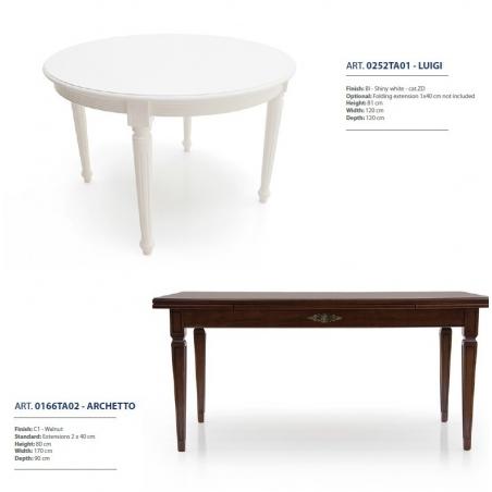Sevensedie Classico обеденные столы - Фото 18