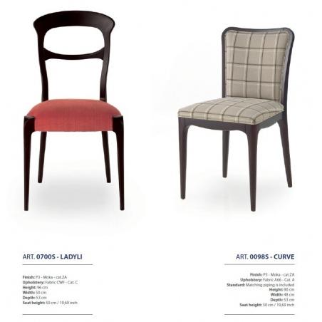 Sevensedie Contemporaneo стулья и полукресла - Фото 13