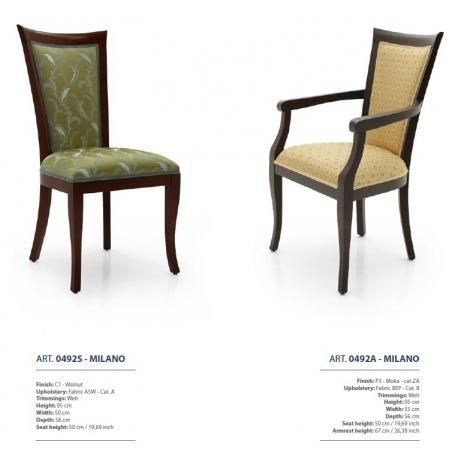 Sevensedie Contemporaneo стулья и полукресла - Фото 20
