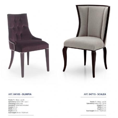 Sevensedie Contemporaneo стулья и полукресла - Фото 26