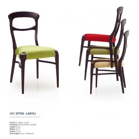 Sevensedie Contemporaneo стулья и полукресла - Фото 31