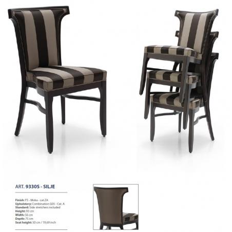 Sevensedie Contemporaneo стулья и полукресла - Фото 32