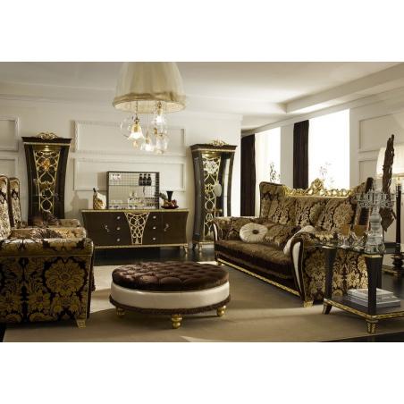 Gotha Gold and Diamonds гостиная - Фото 11