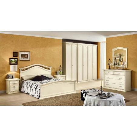 DAL CIN Ambra gessato bianco спальня - Фото 1