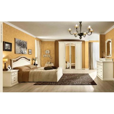DAL CIN Ambra gessato bianco спальня - Фото 3