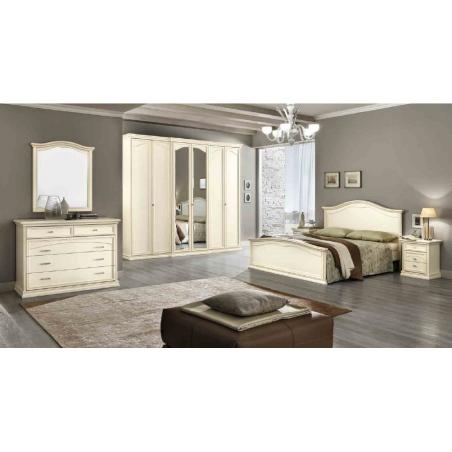 DAL CIN Ambra gessato bianco спальня - Фото 5