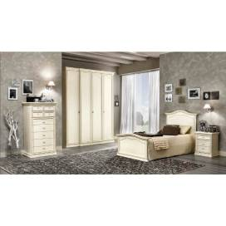 DAL CIN Ambra gessato bianco спальня - Фото 6