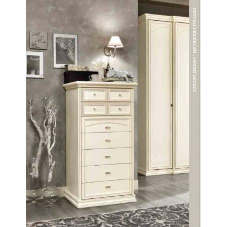 DAL CIN Ambra gessato bianco спальня - Фото 7
