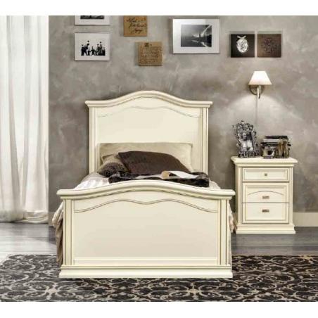 DAL CIN Ambra gessato bianco спальня - Фото 8