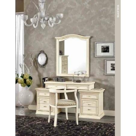 DAL CIN Ambra gessato bianco спальня - Фото 9