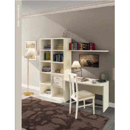 DAL CIN Ambra gessato bianco спальня - Фото 10