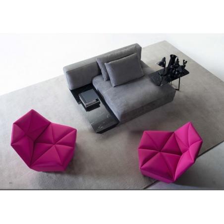 Alberta salotti Black мягкая мебель - Фото 11