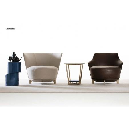 Alberta salotti Black мягкая мебель - Фото 18
