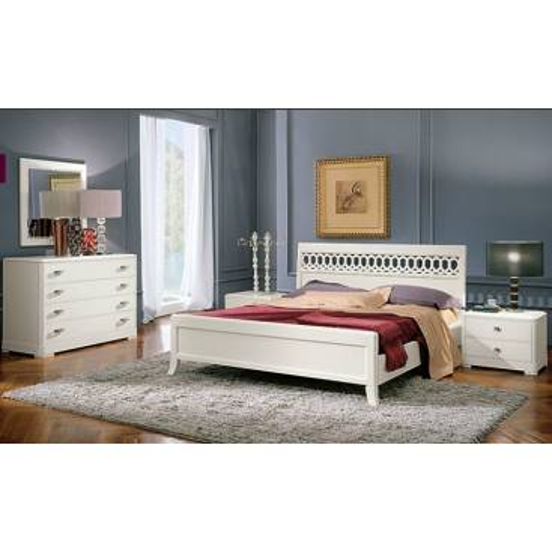 Serenissima  Murano bianco спальня