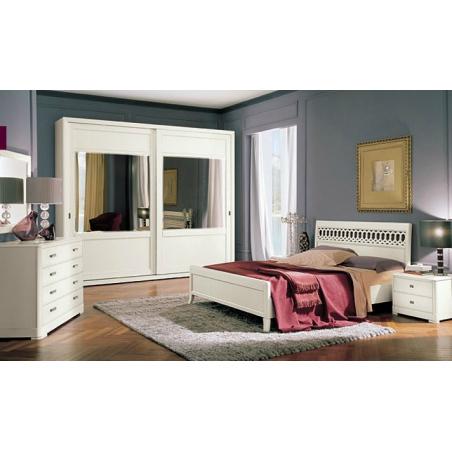 Serenissima  Murano bianco спальня - Фото 2