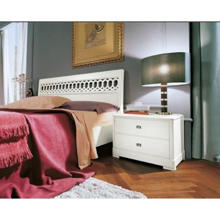 Serenissima  Murano bianco спальня - Фото 3