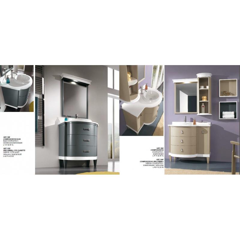 C.P. Mobili Aqua мебель для ванной