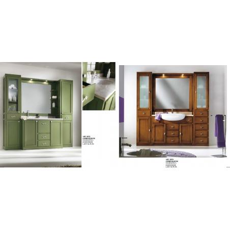 C.P. Mobili Aqua мебель для ванной - Фото 10