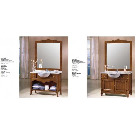 C.P. Mobili Aqua мебель для ванной - Фото 12