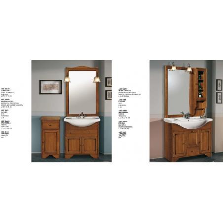 C.P. Mobili Aqua мебель для ванной - Фото 15